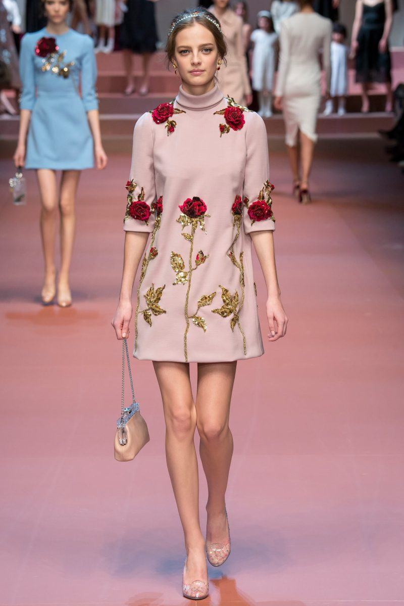 Dolce & Gabbana Ready to Wear FW 2015 MFW (4)