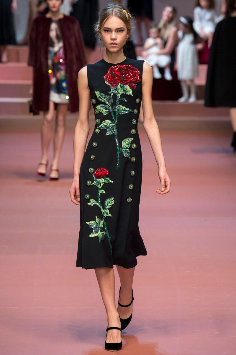 Dolce & Gabbana Ready to Wear FW 2015 MFW (43)