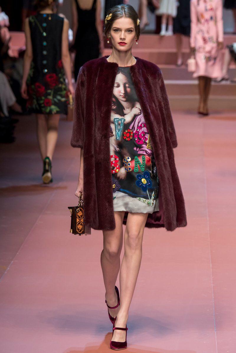 Dolce & Gabbana Ready to Wear FW 2015 MFW (44)