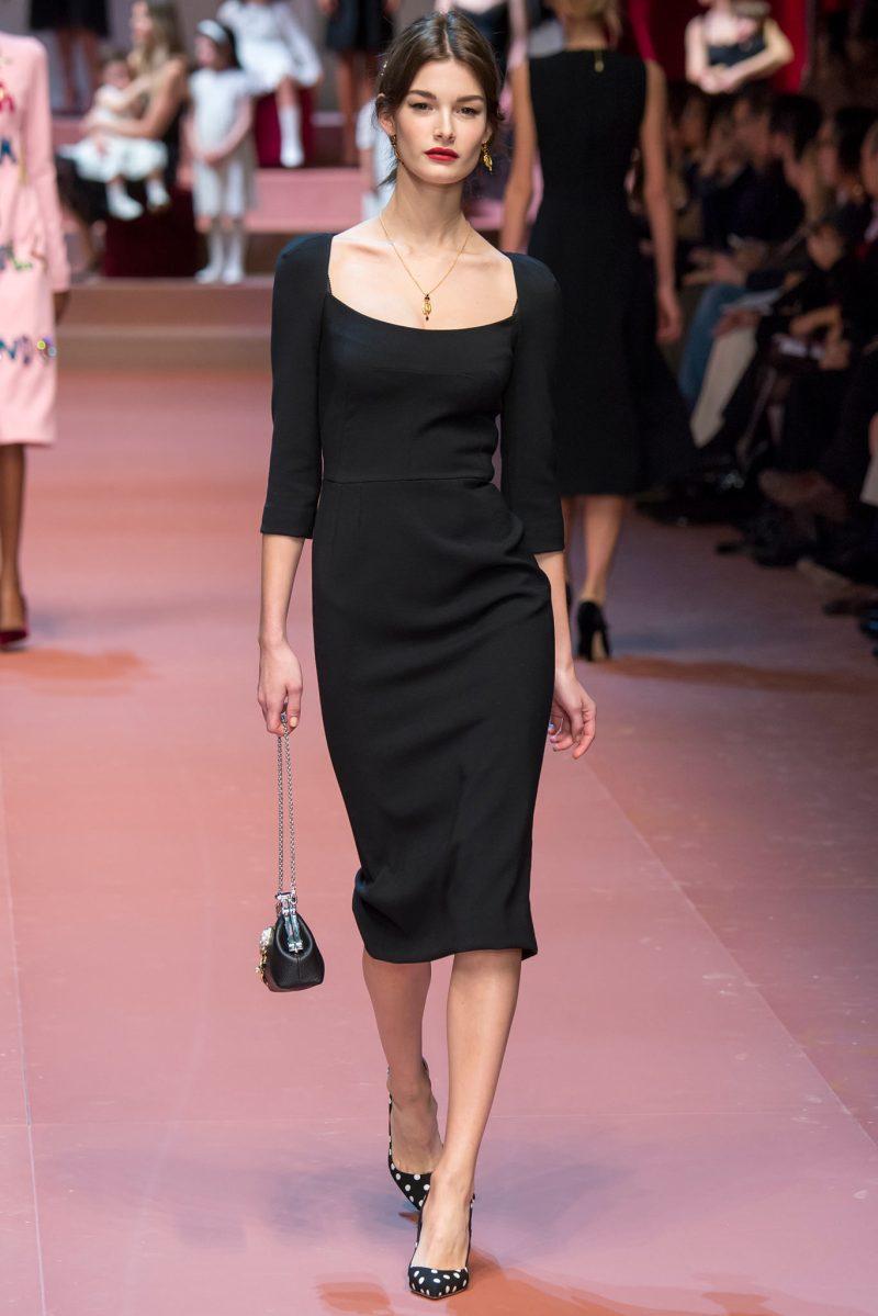 Dolce & Gabbana Ready to Wear FW 2015 MFW (45)