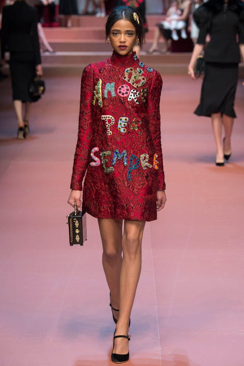 Dolce & Gabbana Ready to Wear FW 2015 MFW (50)