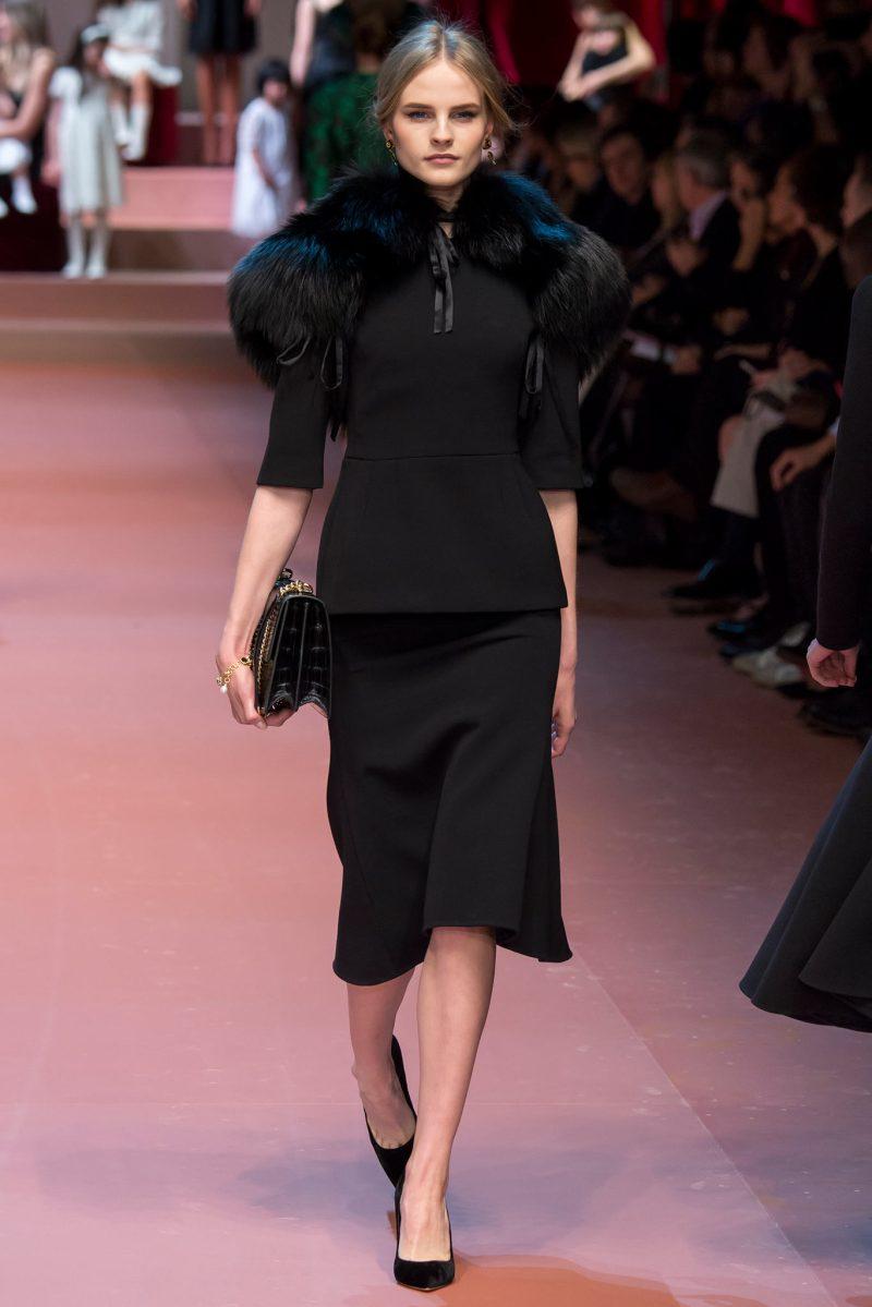 Dolce & Gabbana Ready to Wear FW 2015 MFW (51)
