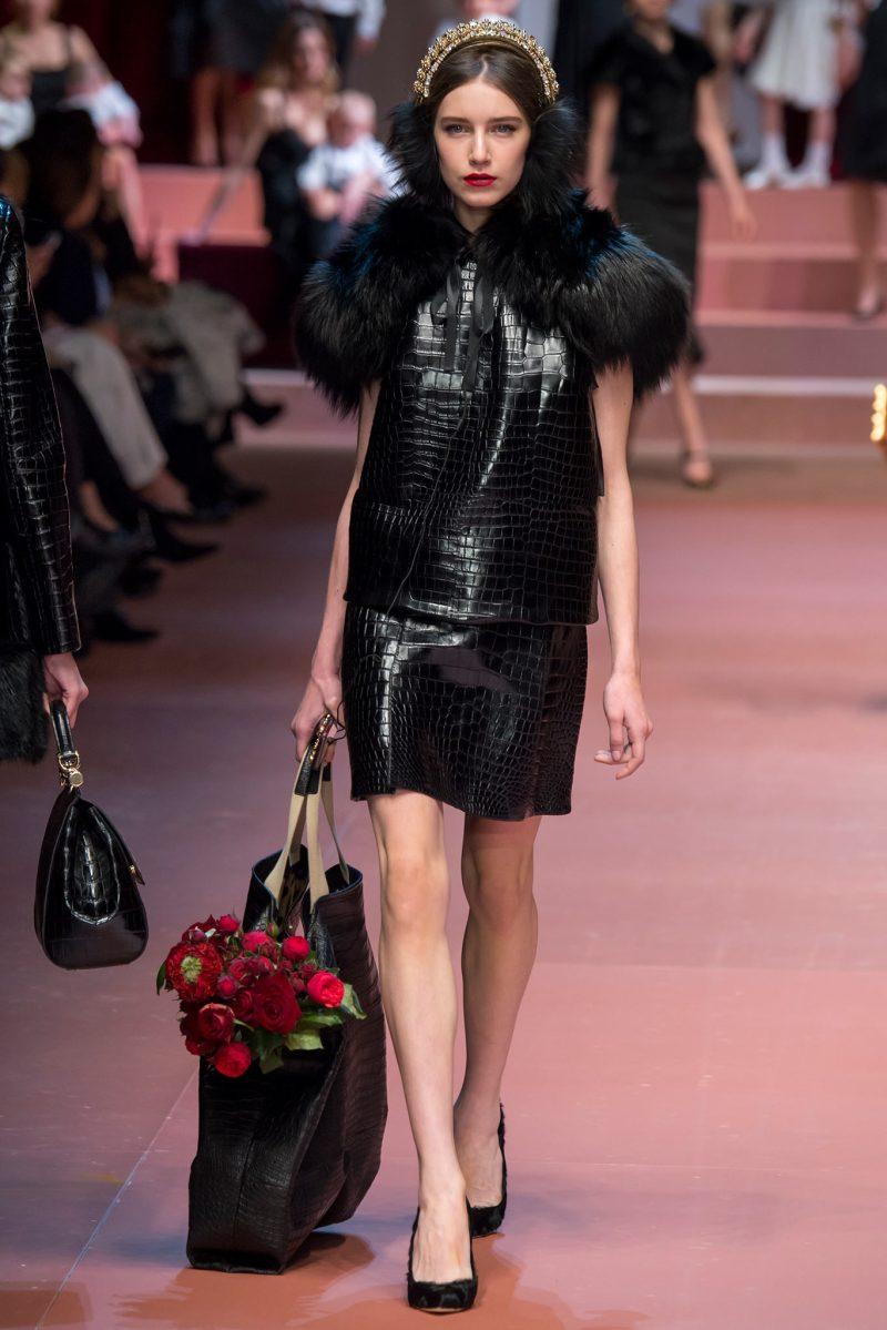 Dolce & Gabbana Ready to Wear FW 2015 MFW (58)