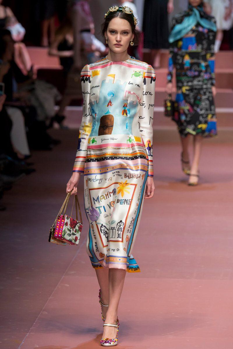 Dolce & Gabbana Ready to Wear FW 2015 MFW (81)