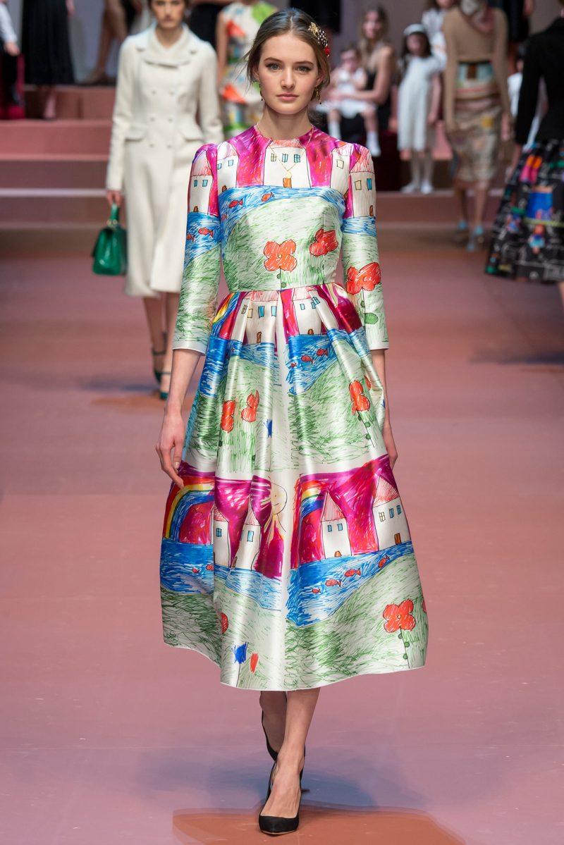 Dolce & Gabbana Ready to Wear FW 2015 MFW (87)