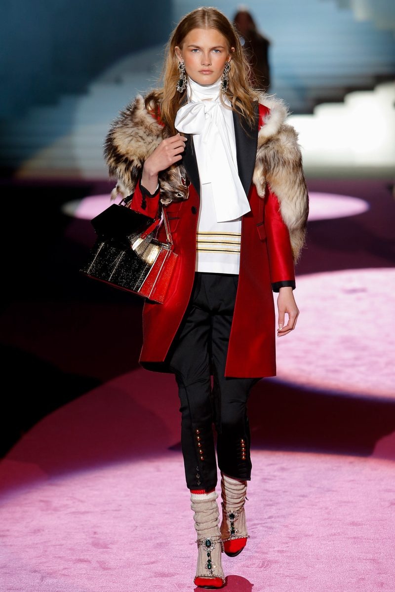 Dsquared² Ready to Wear FW 2015 MFW (16)