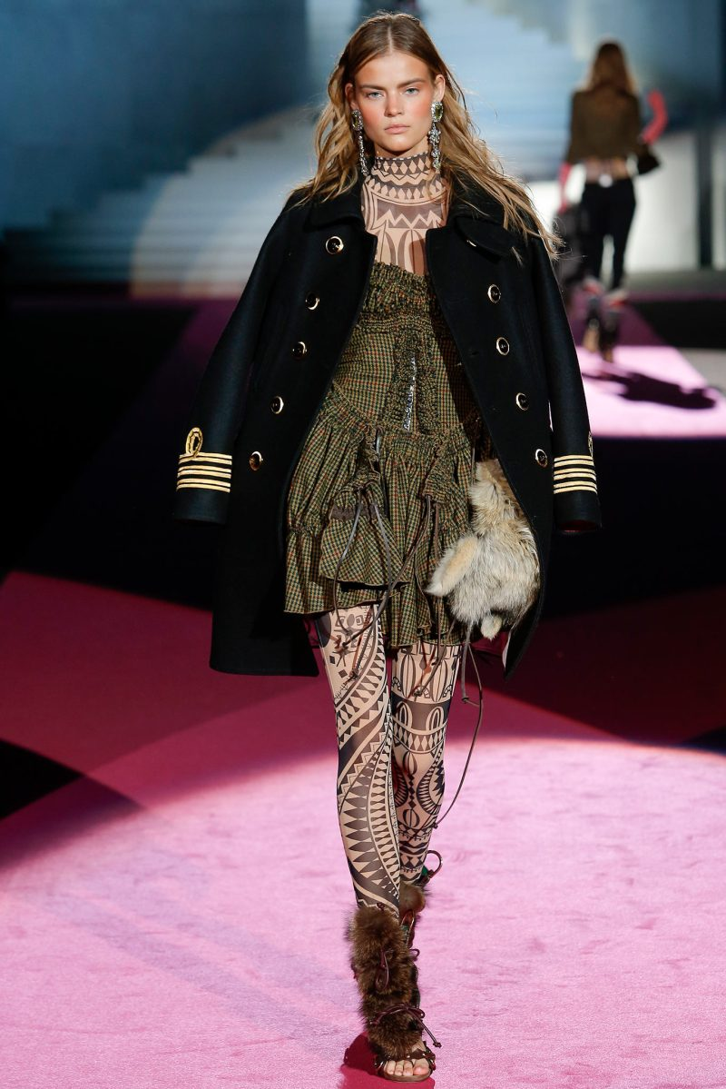 Dsquared² Ready to Wear FW 2015 MFW (9)