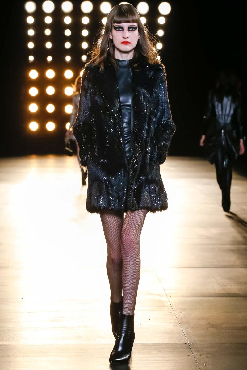 Saint Laurent Ready to Wear FW 2015 PFW (12)