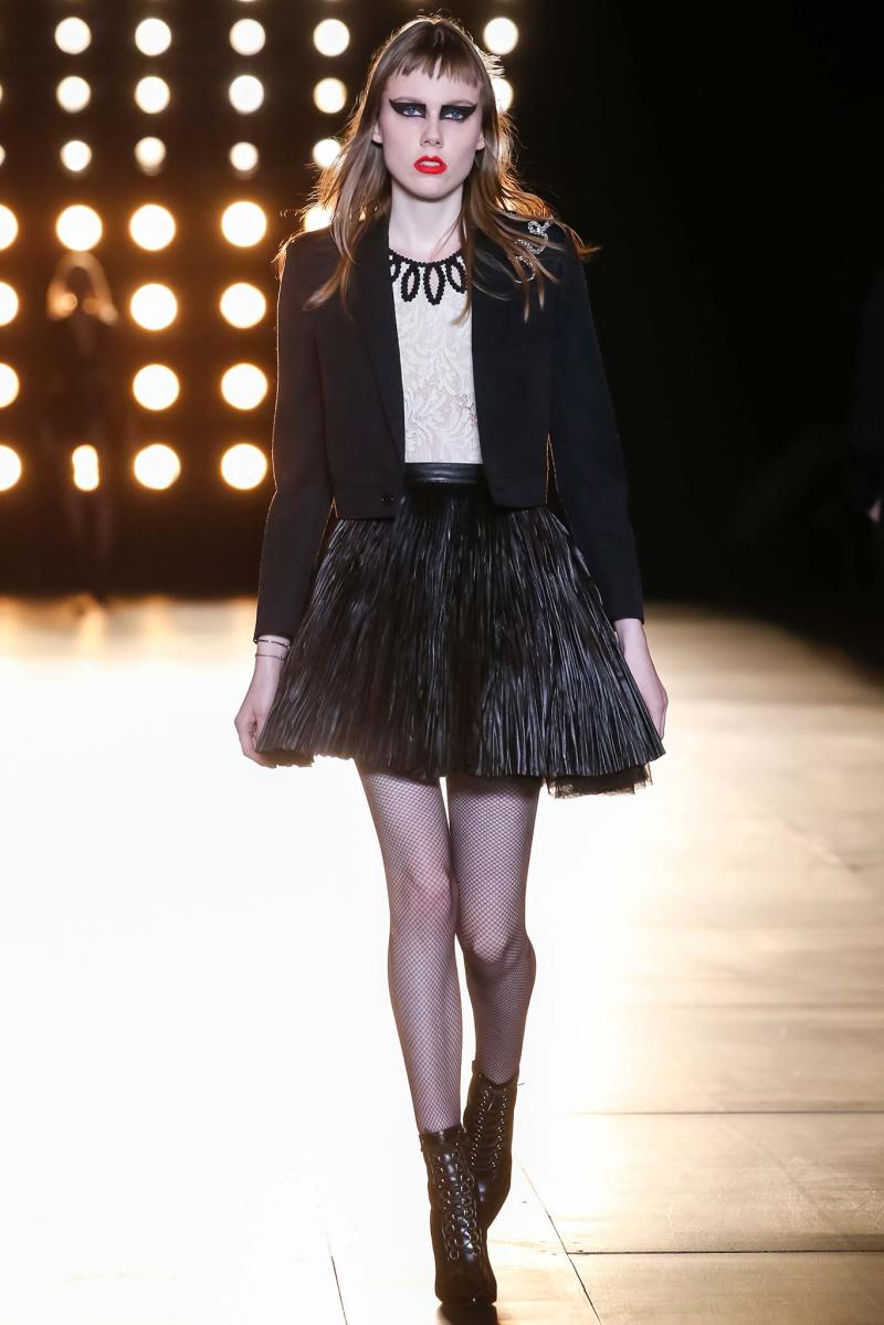 Saint Laurent Ready to Wear FW 2015 PFW (3)