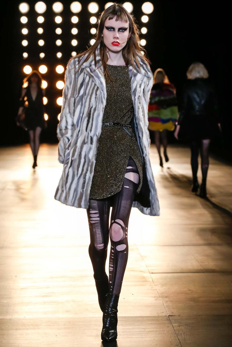 Saint Laurent Ready to Wear FW 2015 PFW (49)
