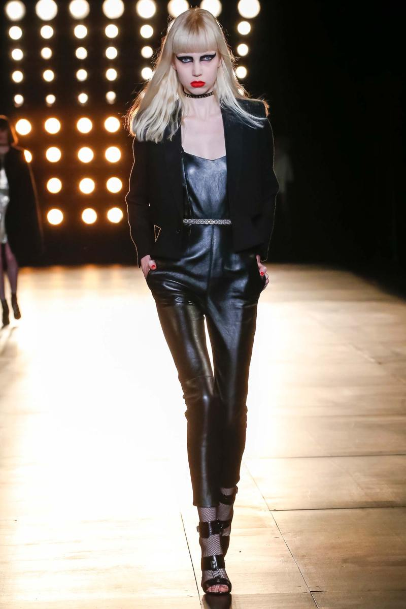 Saint Laurent Ready to Wear FW 2015 PFW (9)
