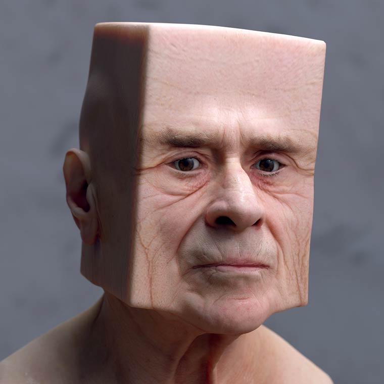 Deformed Portraits by artist Lee Griggs (5)