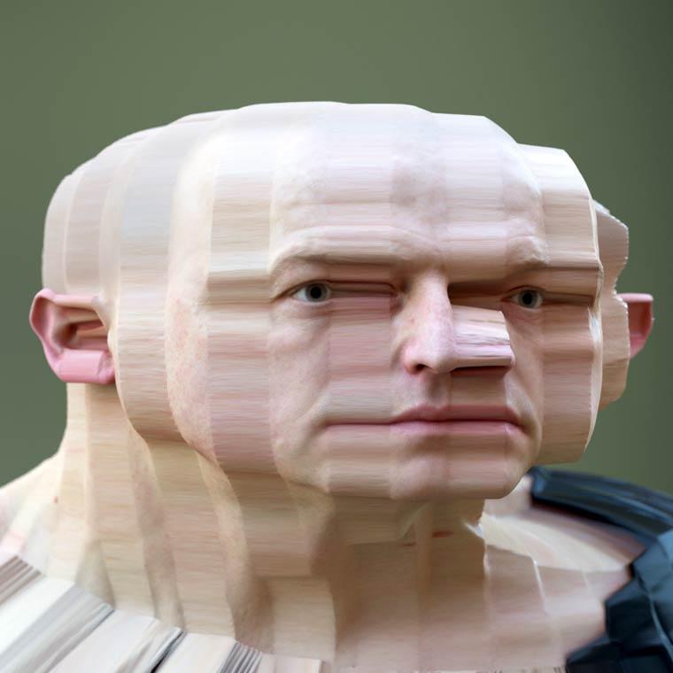 Deformed Portraits by artist Lee Griggs (8)
