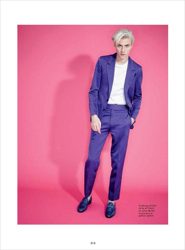 Lucky Blue by Andrew Hail for L'Officiel Hommes (17)