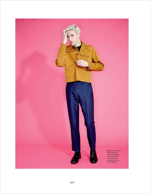 Lucky Blue by Andrew Hail for L'Officiel Hommes (21)