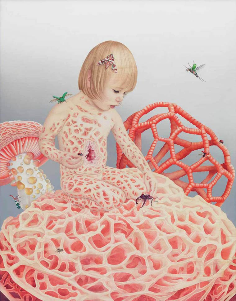 Surreal Paintings by artist Tiffany Bozic (2)