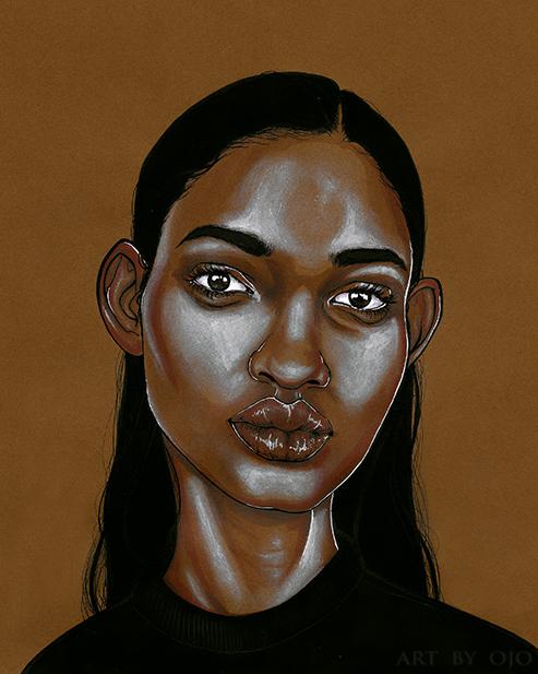 Daughters of Diaspora by artist Ojo Agi