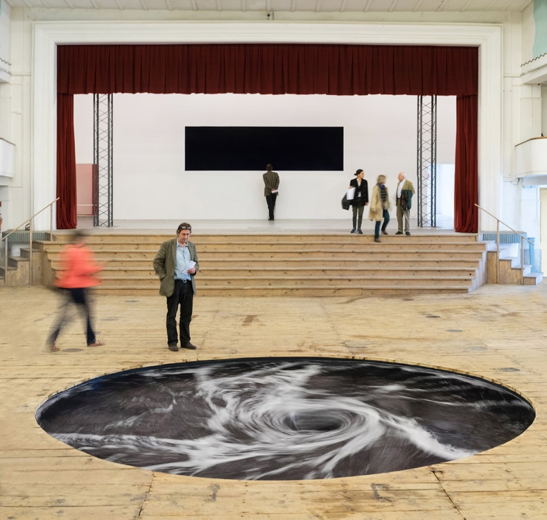 'Descension' by artist Anish Kapoor