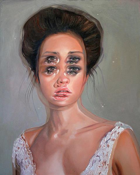 Double Vision Portraits by artist Alex Garant (1)