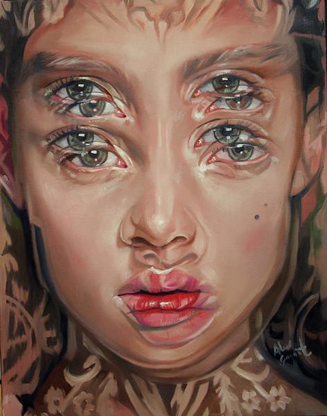 Double Vision Portraits by artist Alex Garant (2)