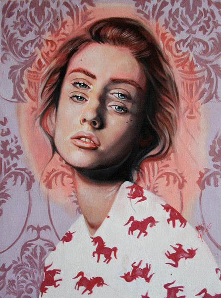 Double Vision Portraits by artist Alex Garant