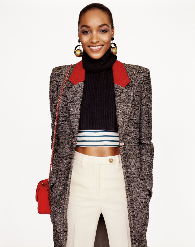 Jourdan Dunn by photographer Alasdair McLellan
