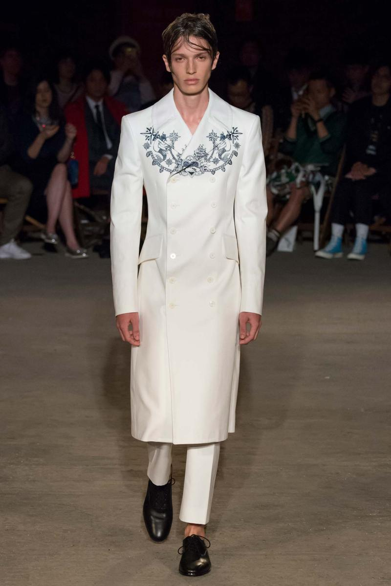 Alexander McQueen Menswear SS 2016 London (1)