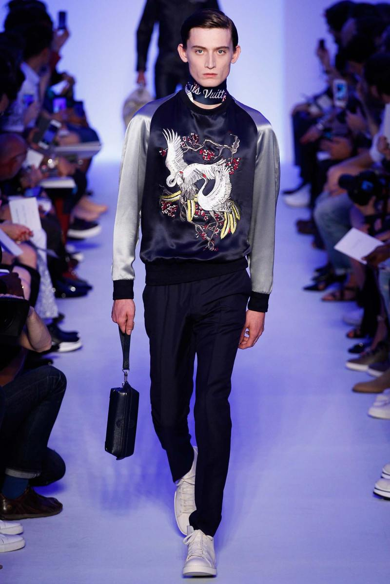 Louis Vuitton Menswear SS 2016 Paris (10)