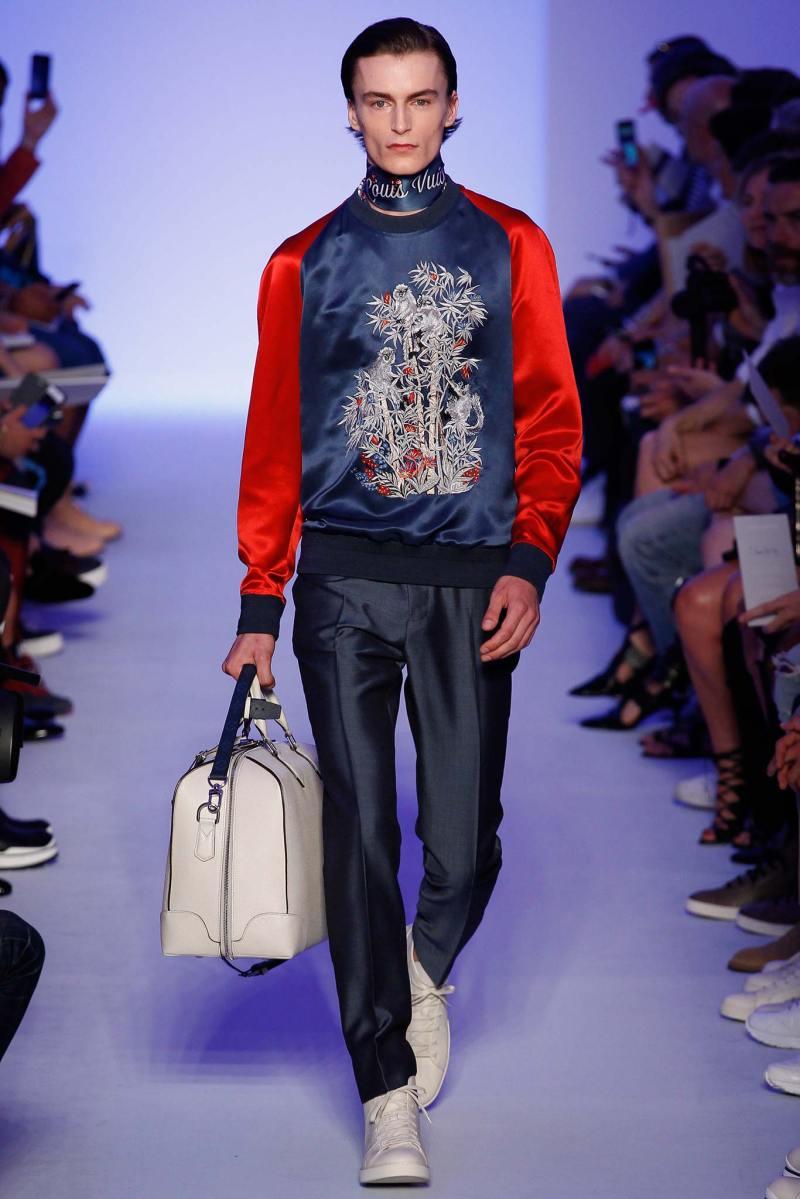 Louis Vuitton Menswear SS 2016 Paris (3)