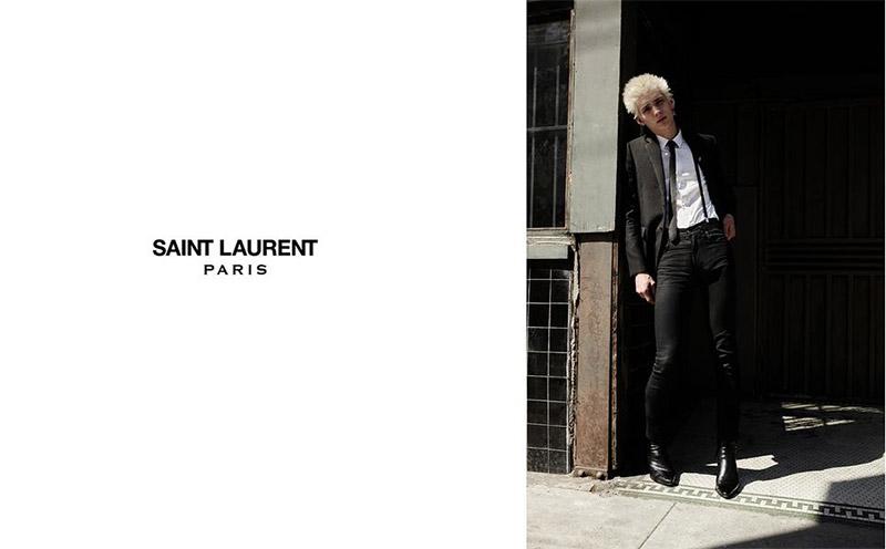 Saint Laurent FW 2015 Print Campaign