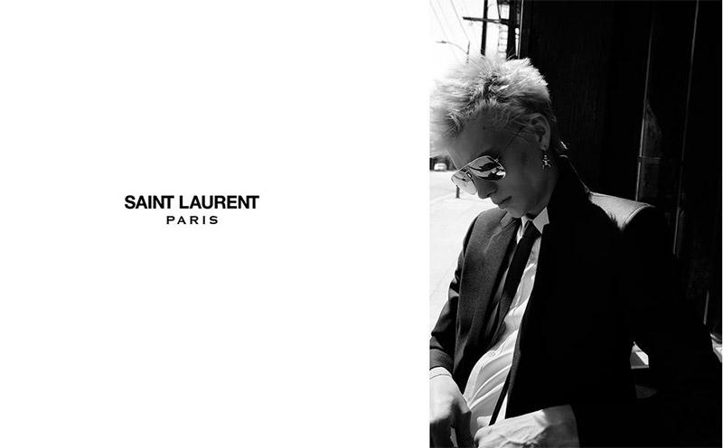 Saint Laurent FW 2015 Print Campaign (7)
