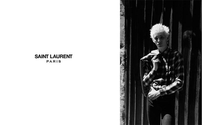 Saint Laurent FW 2015 Print Campaign (8)