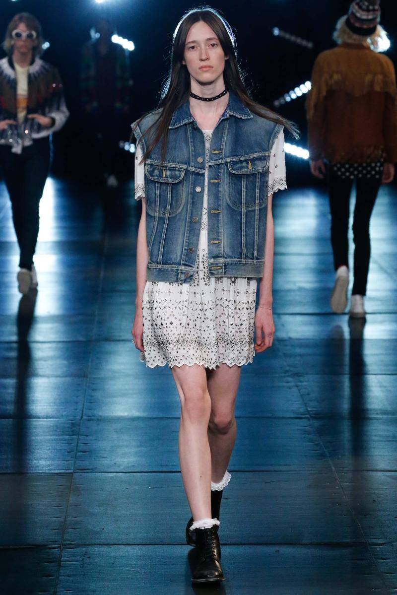 Saint Laurent Menswear SS 2016 Paris (11)