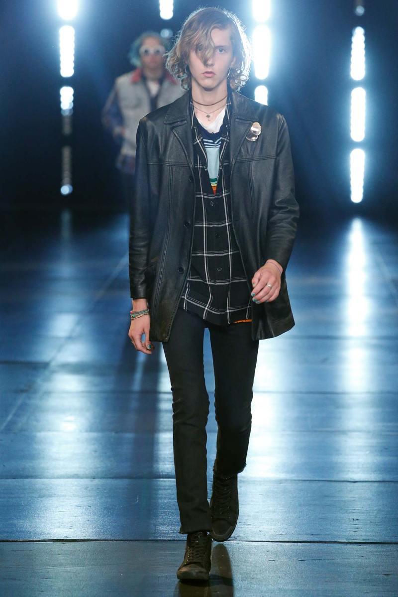 Saint Laurent Menswear SS 2016 Paris (19)