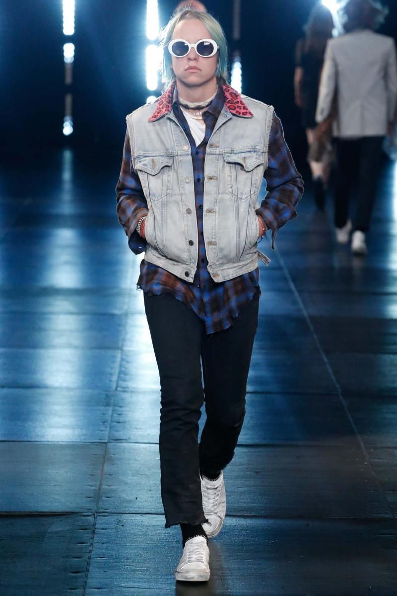 Saint Laurent Menswear SS 2016 Paris (20)