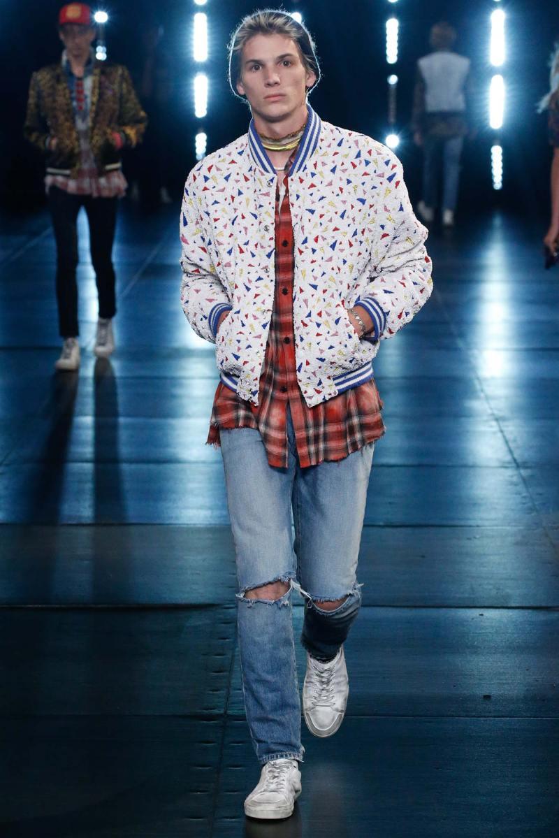 Saint Laurent Menswear SS 2016 Paris (33)