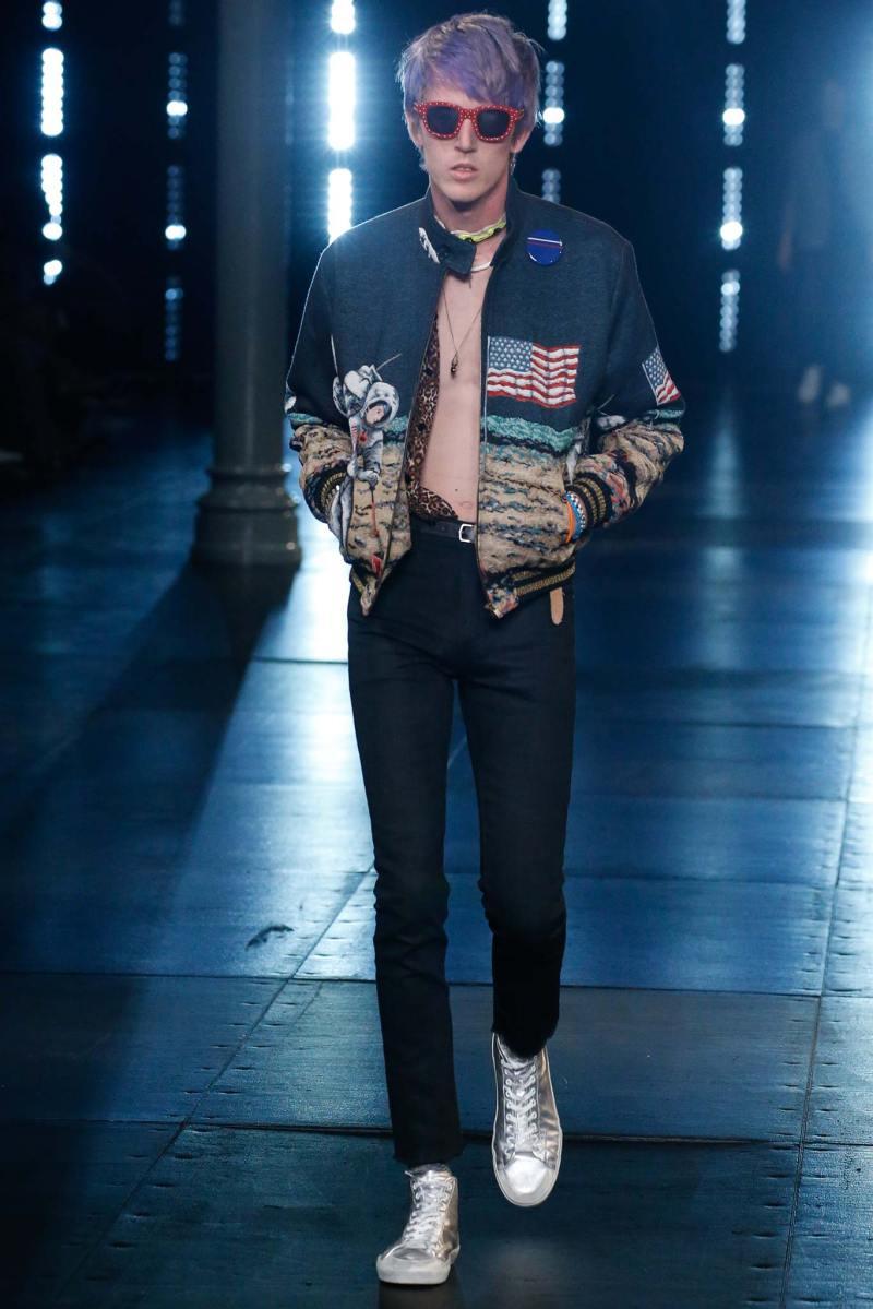 Saint Laurent Menswear SS 2016 Paris (35)