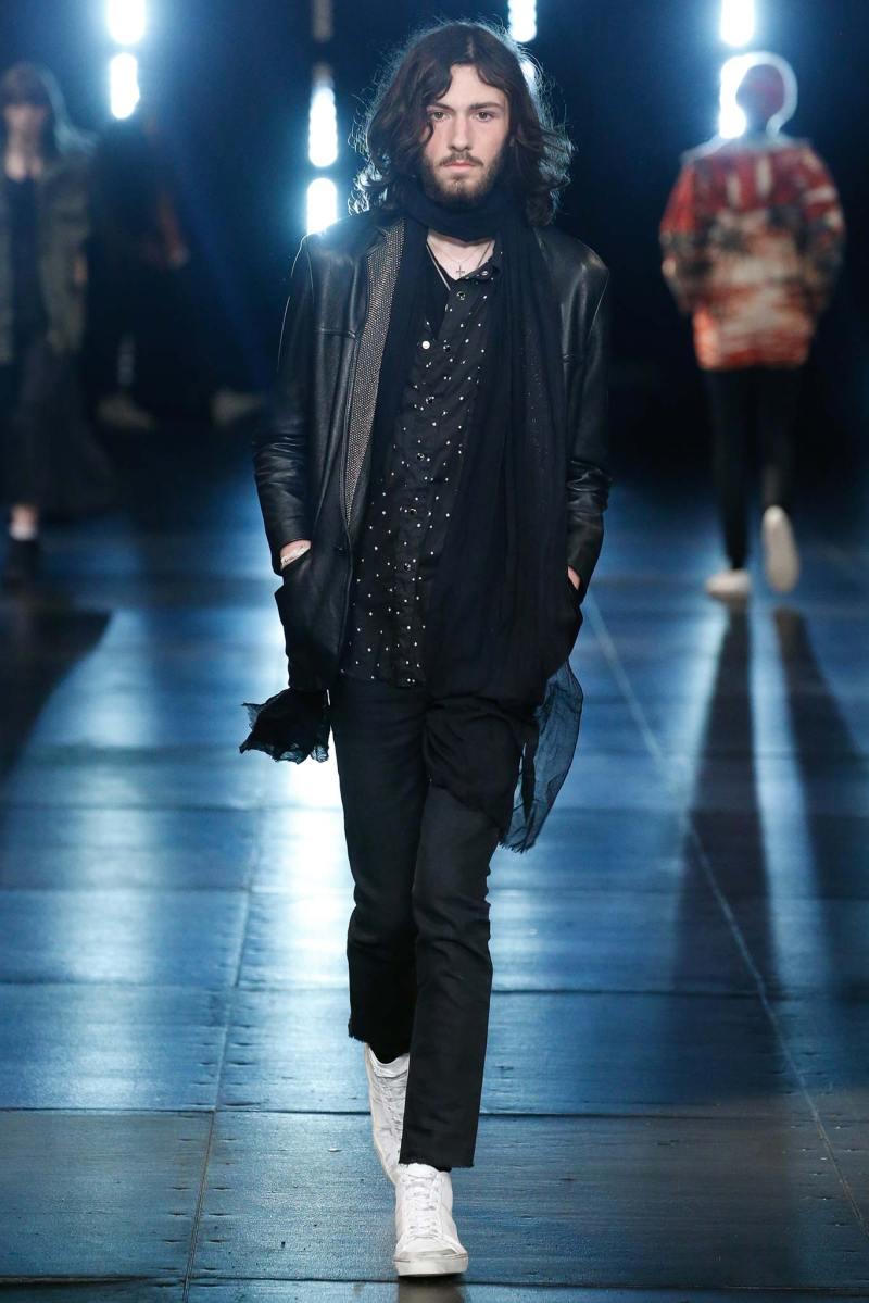 Saint Laurent Menswear SS 2016 Paris (50)
