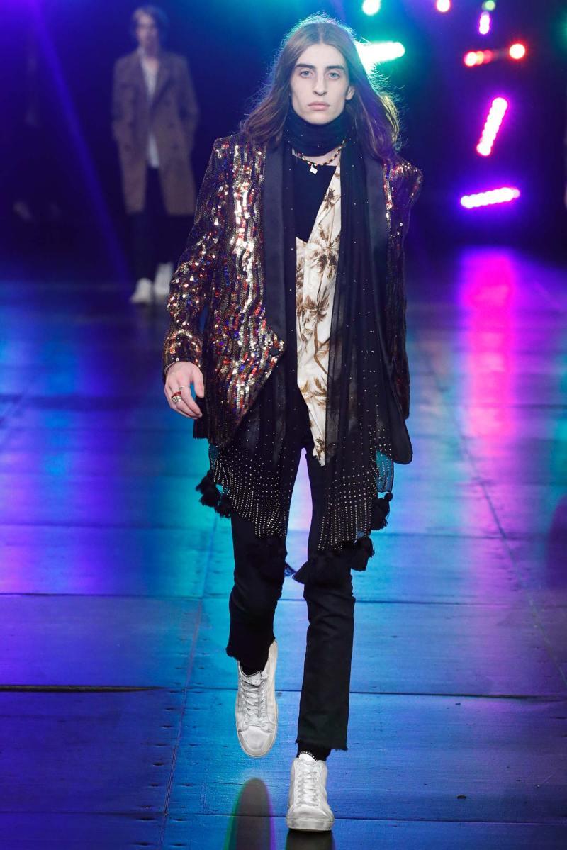 Saint Laurent Menswear SS 2016 Paris (58)