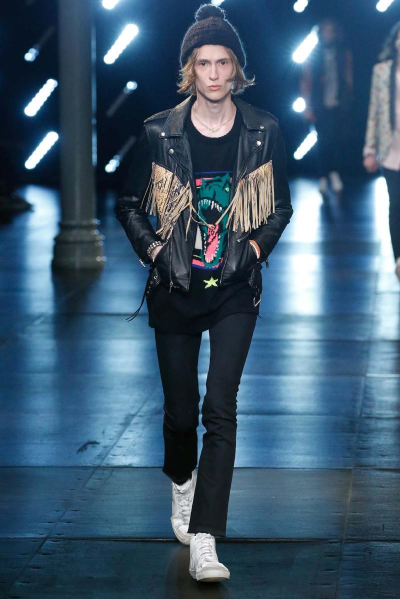Saint Laurent Menswear SS 2016 Paris (6)