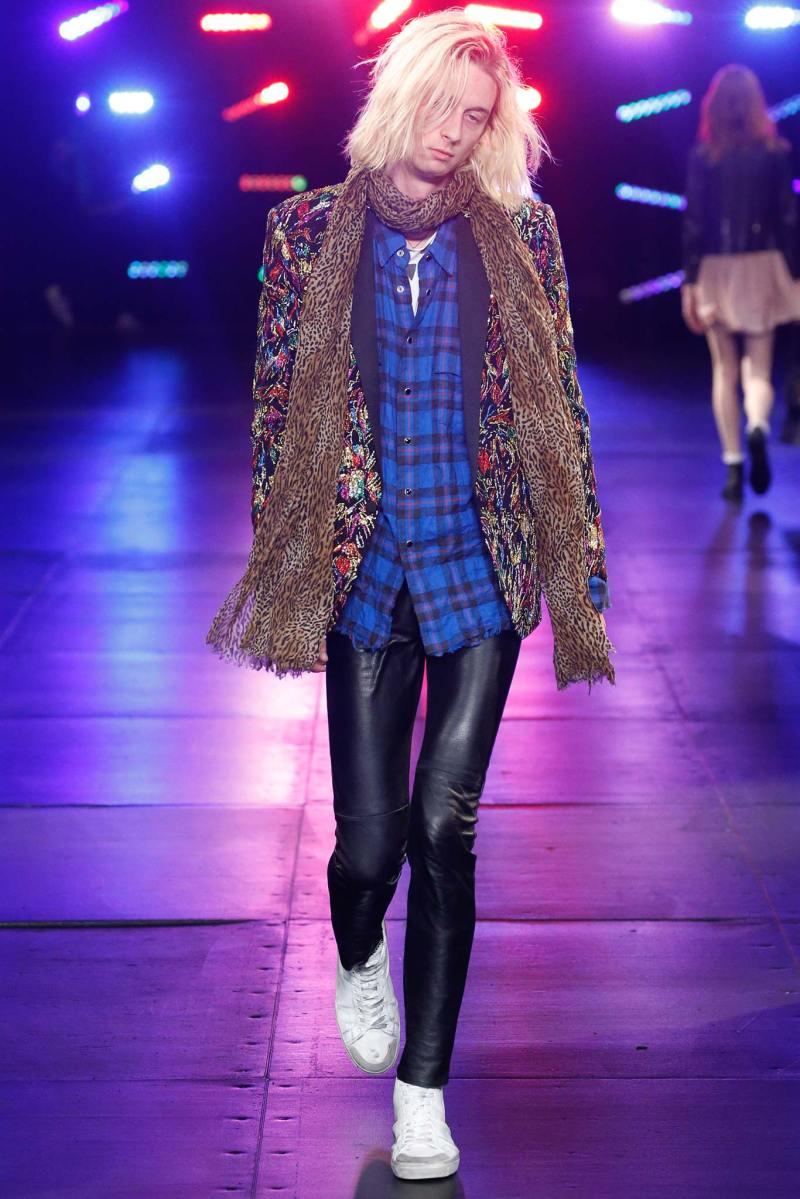 Saint Laurent Menswear SS 2016 Paris (63)