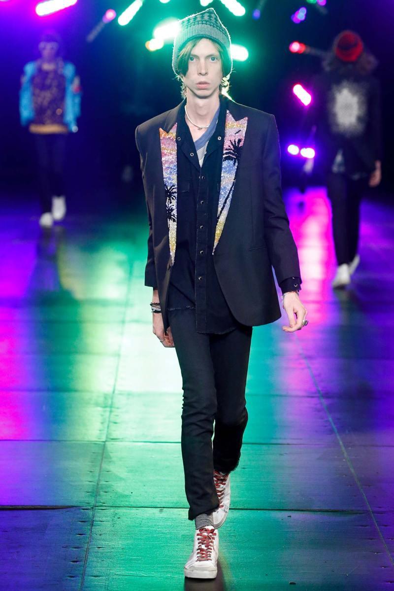 Saint Laurent Menswear SS 2016 Paris (64)