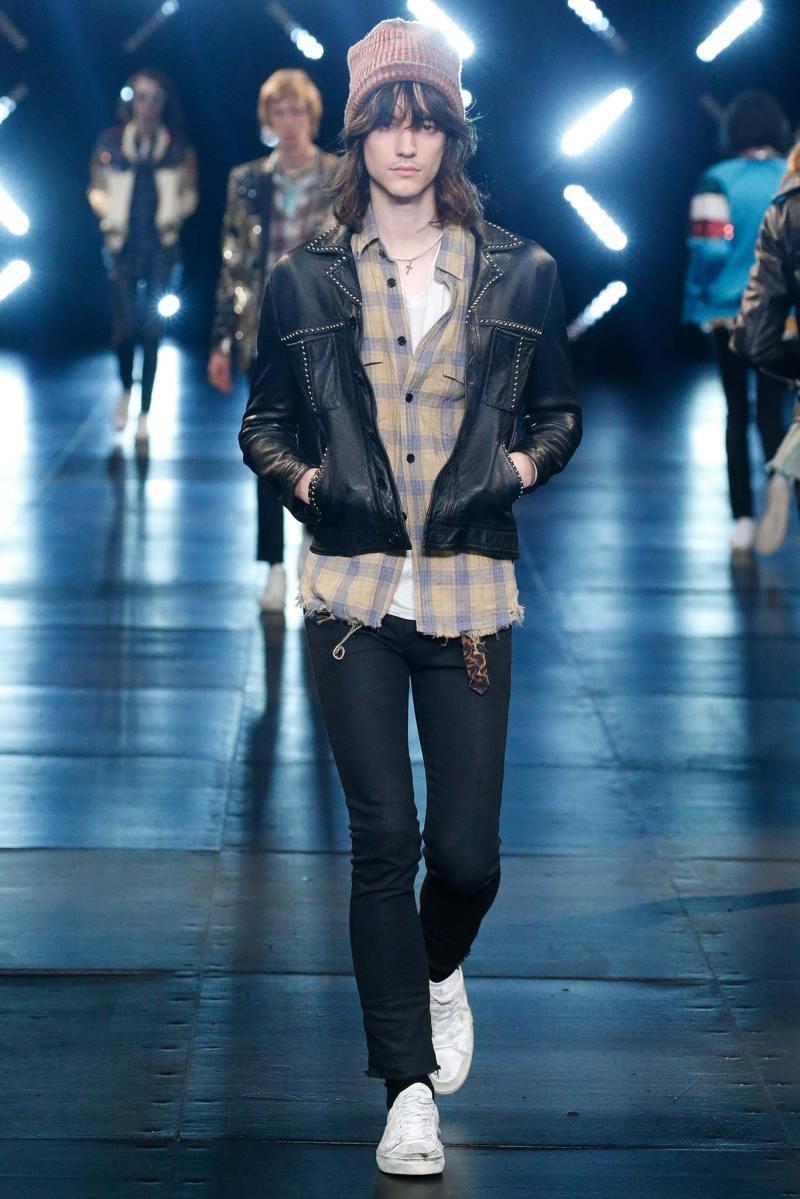 Saint Laurent Menswear SS 2016 Paris (67)