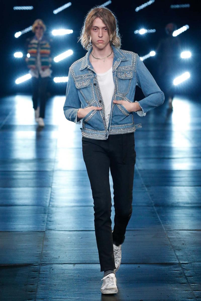 Saint Laurent Menswear SS 2016 Paris (73)