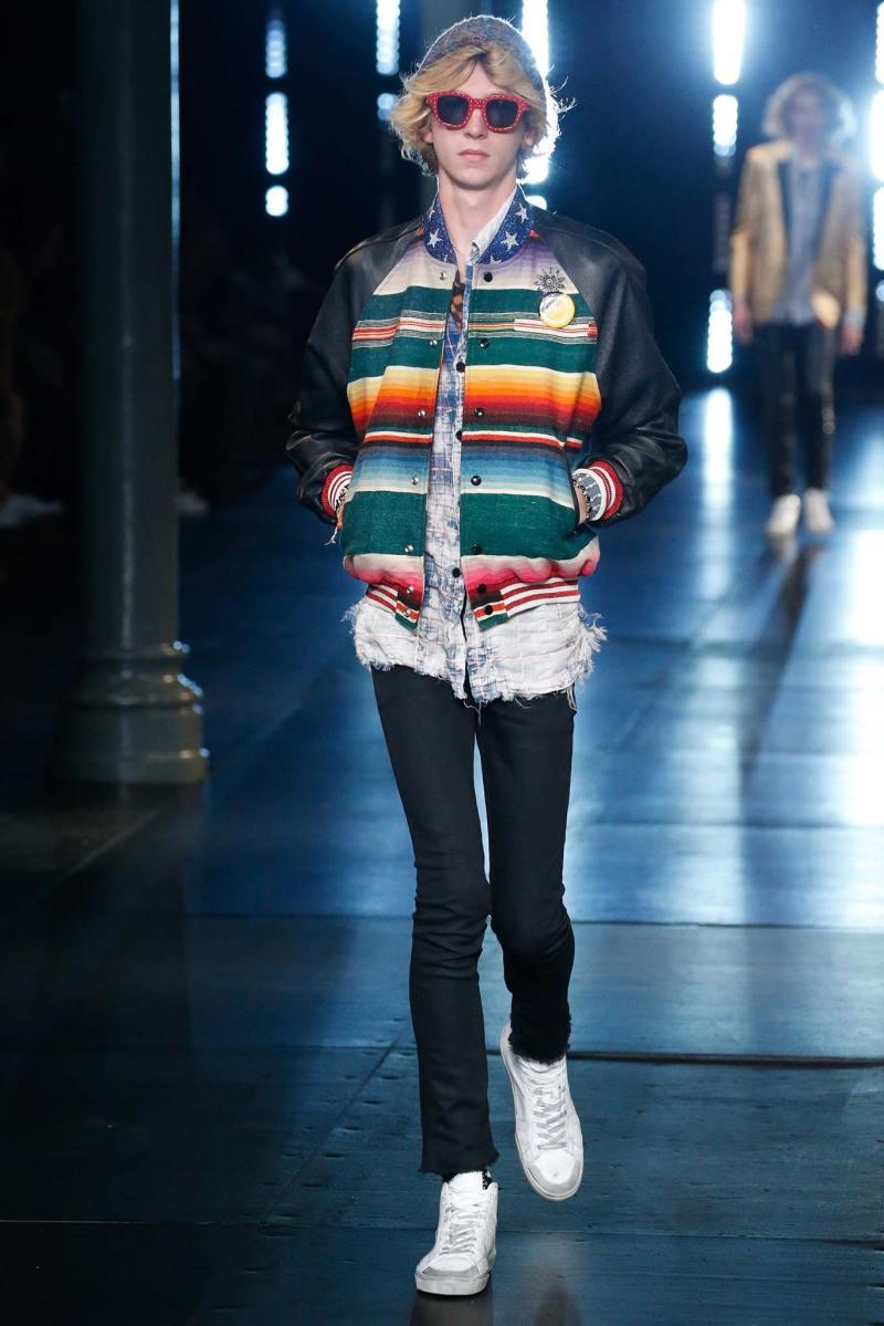 Saint Laurent Menswear SS 2016 Paris (75)