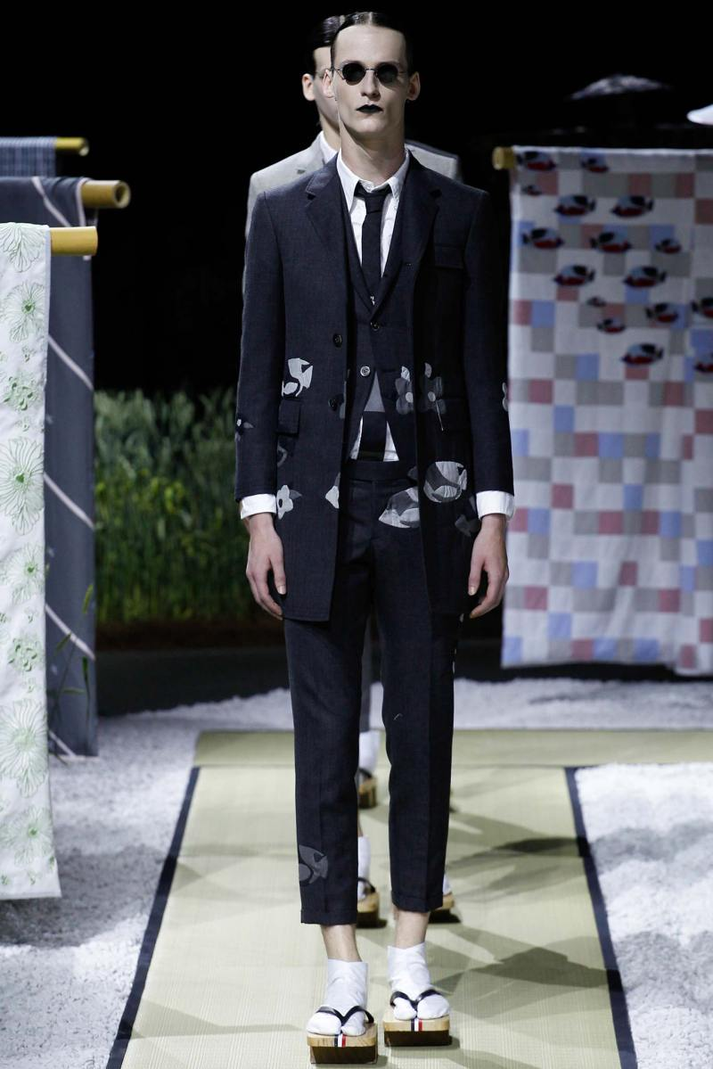 Thom Browne Menswear SS 2016 Paris (18)