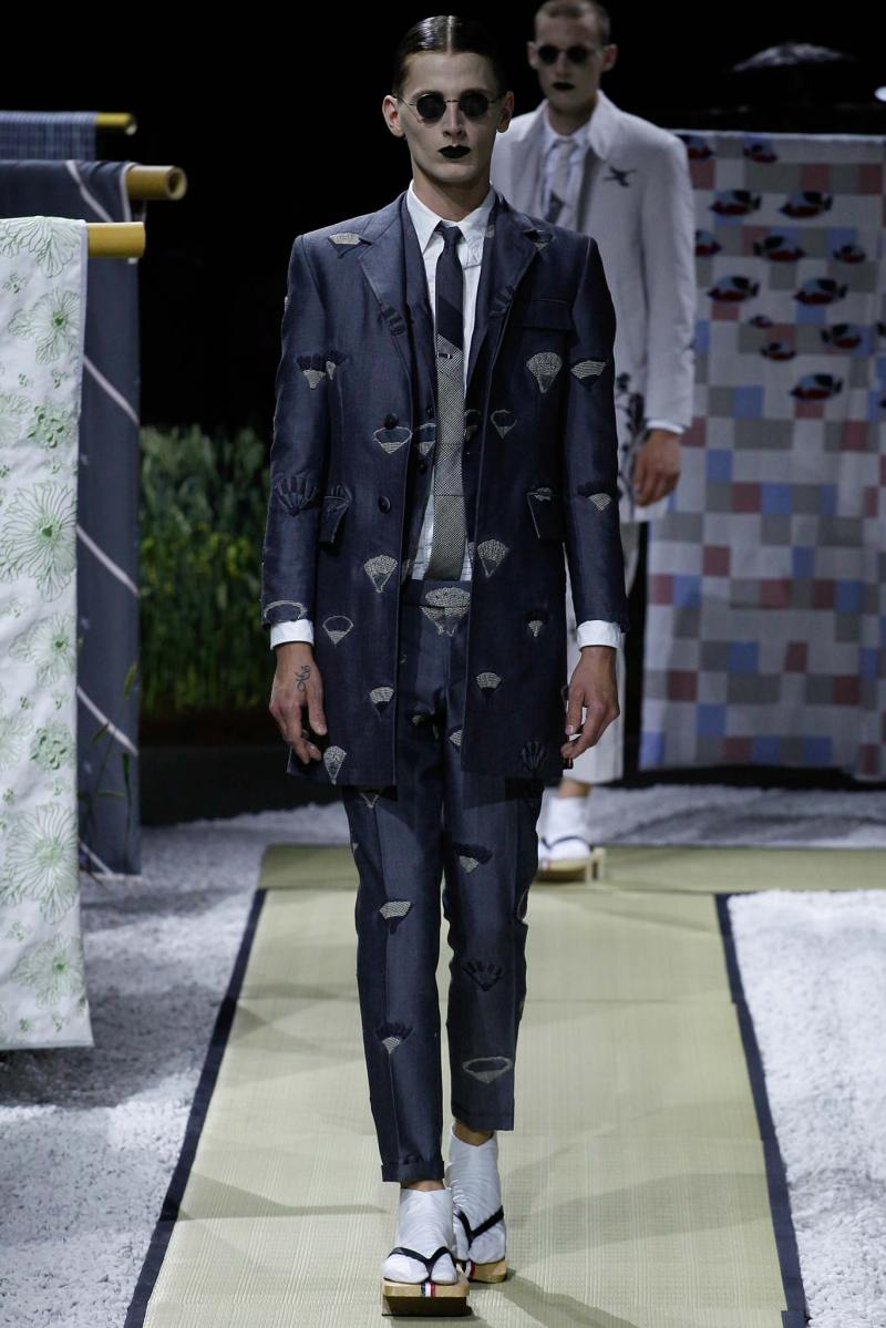 Thom Browne Menswear SS 2016 Paris (26)