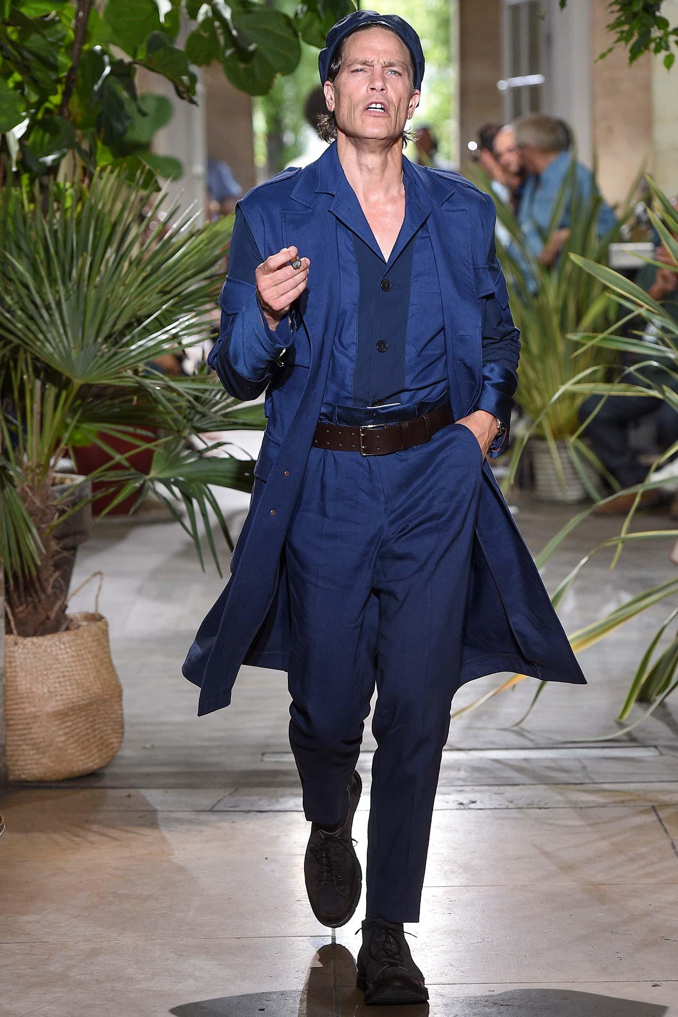 Umit Benan Menswear SS 2016 Paris