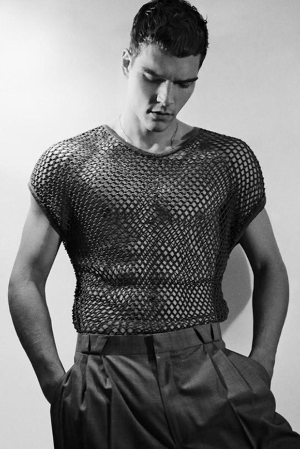 Alexandre Cunha by photographer Neal Franc