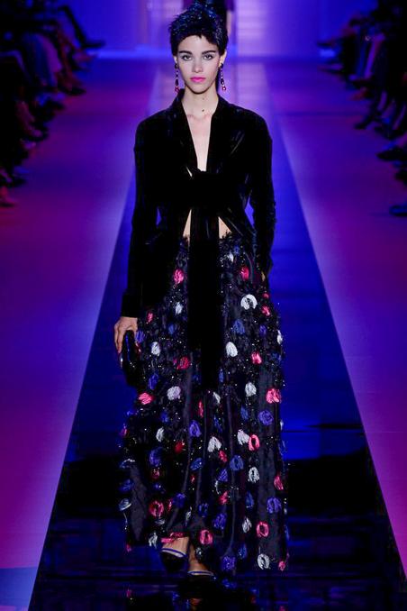 Armani Privé Haute Couture FW 2015 Paris (15)